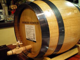 ボジョレー樽