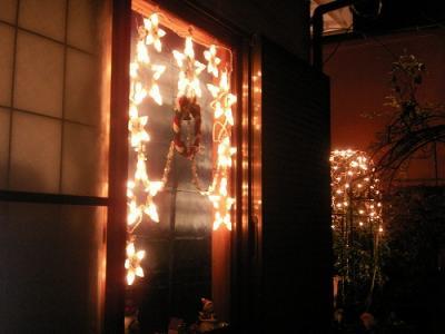窓のライト