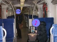 フランクフルト中央駅へ