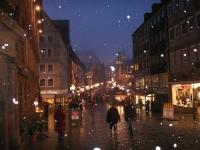 雪のニュルンベルク