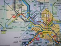 マイセン行き路線図