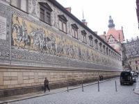 君主の行進の壁画