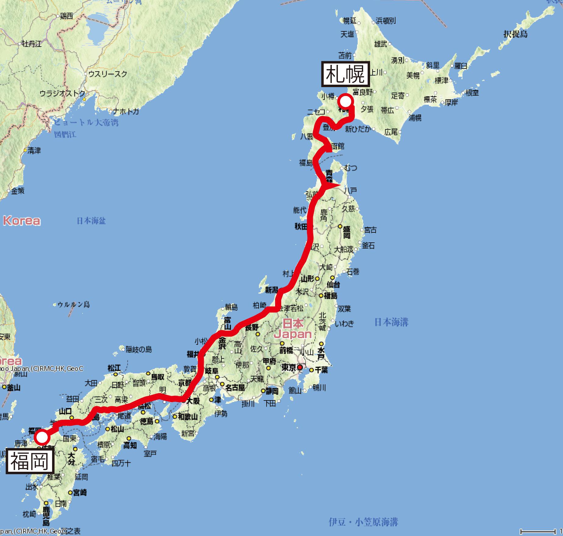 日本」で最も長距離を走る貨物列...