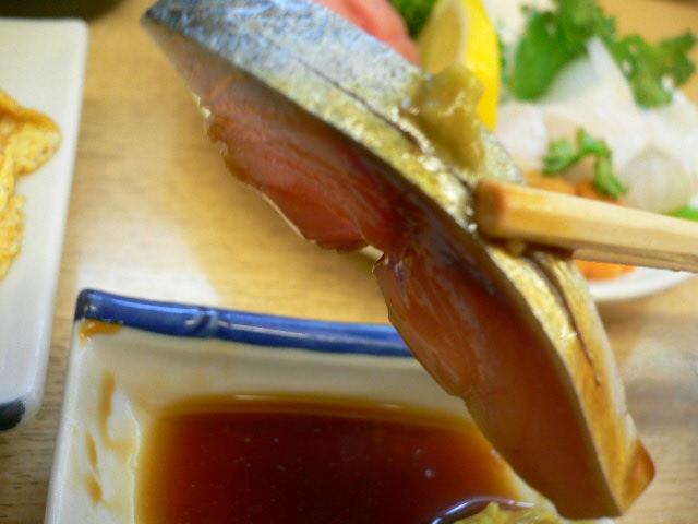 きずし、さすが関西、〆鯖サイコー