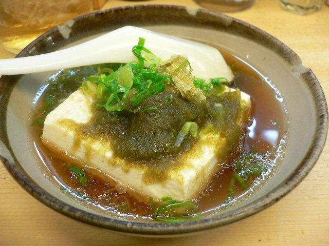 湯豆腐 食うべし