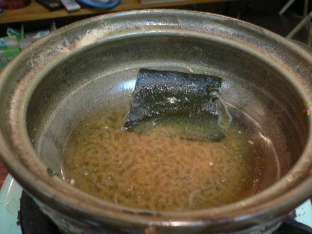 雑炊までいかないし、、