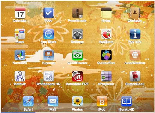 iPad Appli