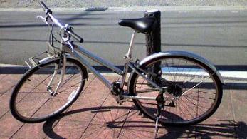 091212クロスバイク
