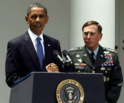 オバマ米大統領はアフガン駐留米軍のマクリスタル司令官を解任した(ロイター通信)