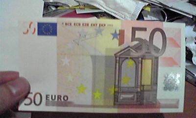 50ユーロだぜ