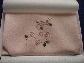 つるバラ・ピンク・紙箱