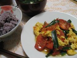 トマトと卵の炒め物♪