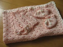 編み編み完成♪