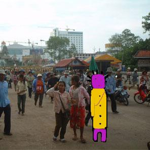 タイカンボジア国境
