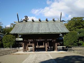 宮崎神宮(拝殿)