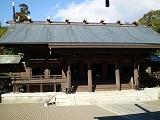 宮崎神宮本殿左