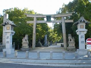 大山祇神社の大鳥居