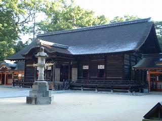 大山祇神社 拝殿
