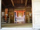 大山祇神社 拝殿内