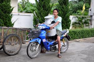 carrying milk