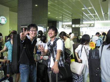2010.8.1東京駅にて