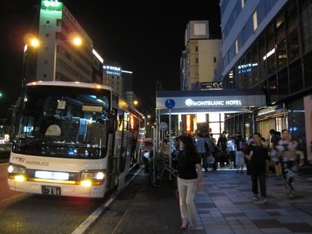 2010.8.1名古屋のホテルに到着