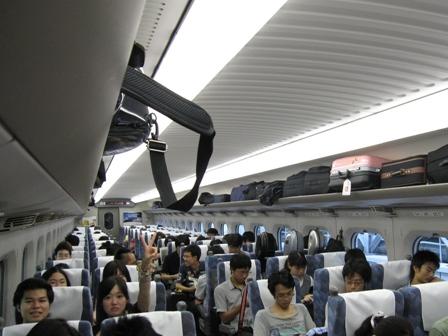 2010.8.1新幹線の中