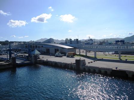 2010.8.6五島福江港に到着