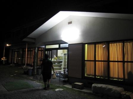 2010.9.22民宿沼田の入り口