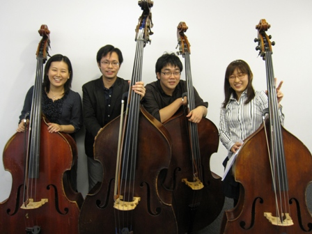 2010.11.21コントラバス四重奏