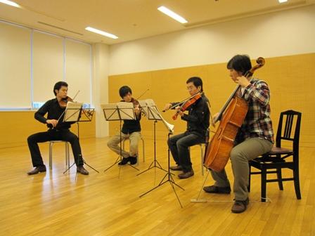 2010.11.21弦楽四重奏