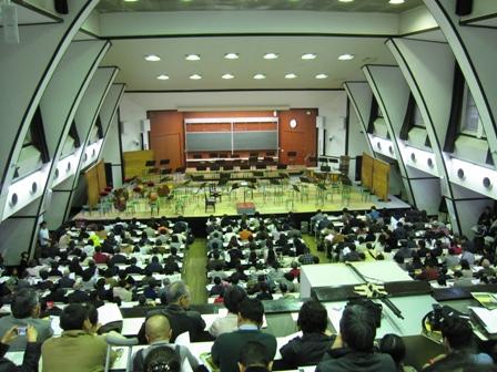 2010.11.23駒場祭開演前