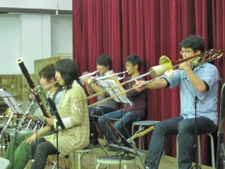 2011.1.13アンコール管楽器