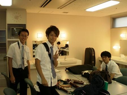 東京公演楽屋裏2