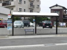 福津市役所福間庁舎前バス停