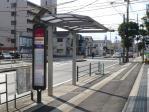 大分放送前バス停