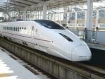 新鳥栖駅に停車中の800系新幹線