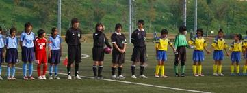 第24回 関東少女サッカー大会vs戸木南