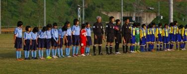 第24回 関東少女サッカー大会vs千葉中央