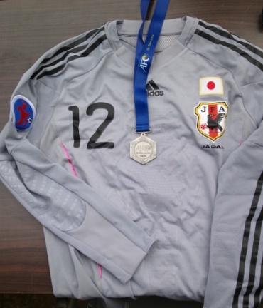U16日本代表ユニ&AFCメダル