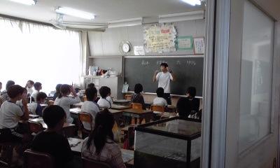 若葉授業参観木暮