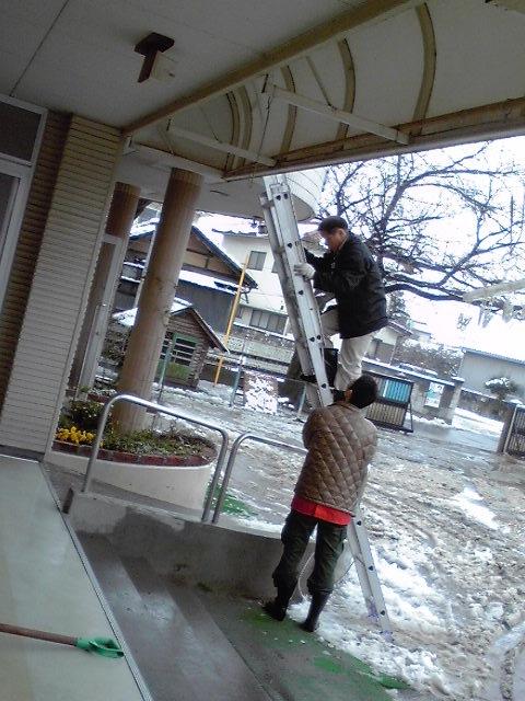 雪下ろし3:10