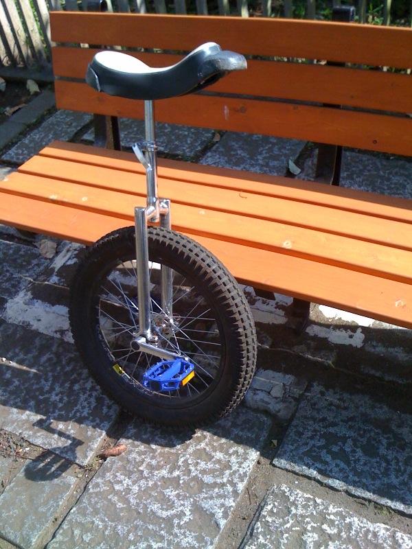 一輪車ペダル