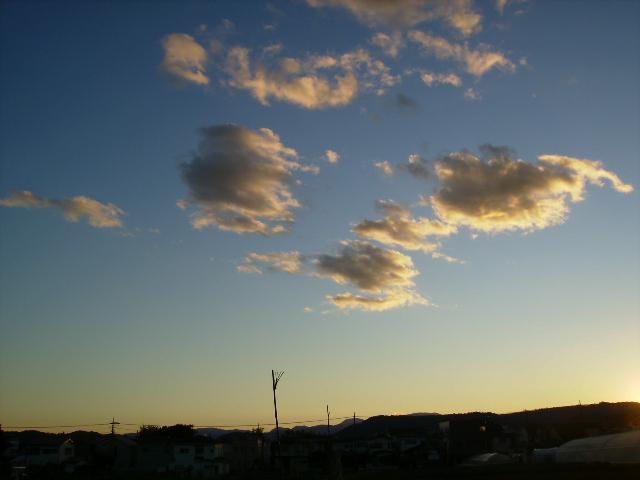 夕方の雲04