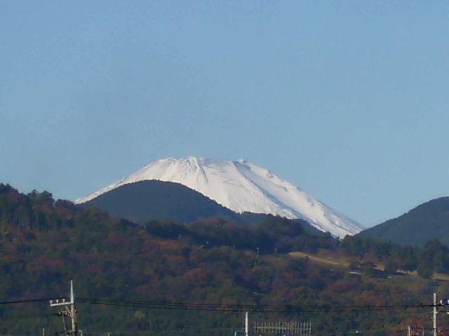 晩秋の富士57