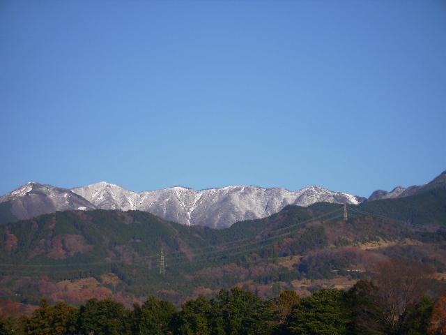 初冠雪の丹沢15