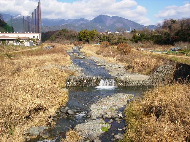初冬の川92