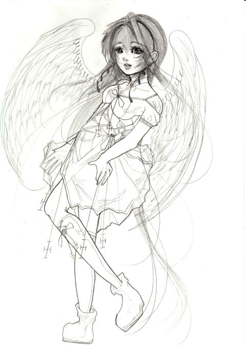 静かに微笑む天使♪