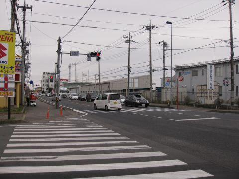国道6号 上稲吉交差点