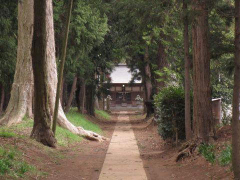 下稲吉の香取神社